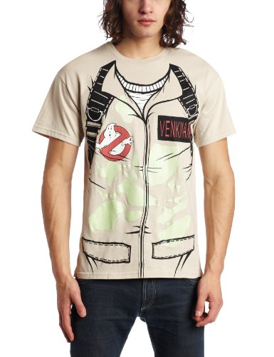 Ghostbusters Suit T Shirt Small / Grey