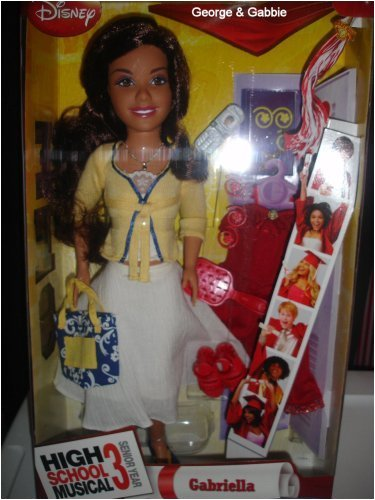 Buy Low Price Mattel High School Musical 3 Senior Year Exclusive 17″ Gabriella Doll Figure (B001IM3RNQ)