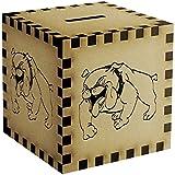 'Happy Bulldog' Money Box / Piggy Bank (MB00035239)