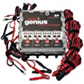 NOCO Genius G4 6V/12V 4.4 Amp 4-Bank Smart Battery Charger and Maintainer