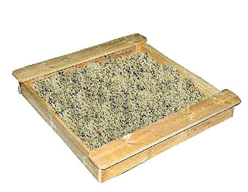 b+t ISA140 Sandkasten aus Kiefer / Maße: 140 x 140 cm / ohne Boden / mit zwei gegenüberliegenden Spiel-/Sitzbrettern / einfache Montage jetzt bestellen