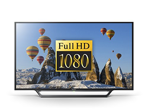 Sony Bravia KDL40WD653 40 inch Full HD Smart TV with Freeview, HDD Rec and USB Playback (2016 Model) - Black