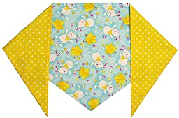 Dog Easter Bunny Bandana (L) Ties on 14\