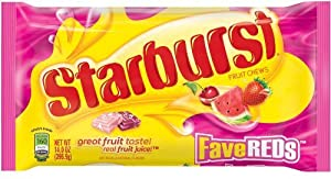 Starburst Fave Reds, 14 oz Bag