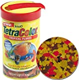 Tetra Color Tropical Flakes, 7.06-Ounce, 1-Liter