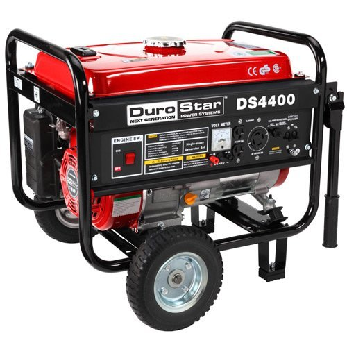 DuroStar DS4400 4,400 Watt Gas Powered Portable