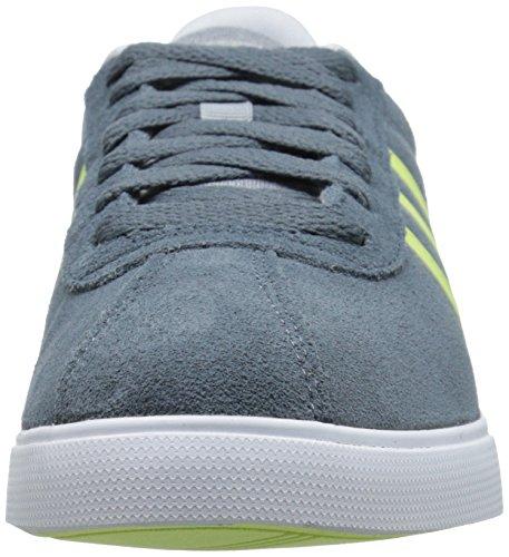Adidas NEO Women's Courtset W Sneaker, Grey/ Frozen Yellow/ White, 9.5 M US