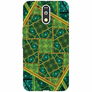 Back Cover For Motorola Moto G4 Plus (Printed Designer)