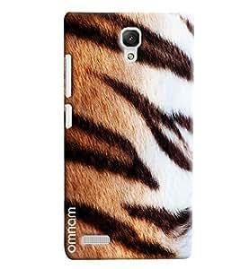 Omnam Cheetah Pattern Printed Designer Back Cover Case For Xiaomi Redmi Note Prime