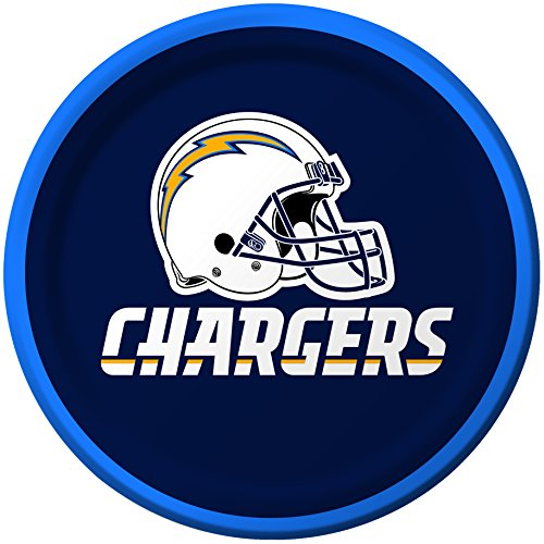 Creative Converting 8 Count San Diego Chargers Paper