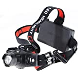 Headlamp Headlight CREE LED Zoom Focus Adjustable