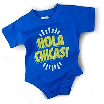 Amazon.com: Wry Baby 'Hola Chicas' Baby Bodysuit: Baby