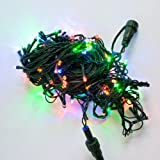 100 LED Multi Color String Light Strands for Connectable System - connect up to 1200 LEDs