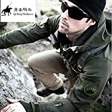 TAD V 40 Men Outdoor Hunting Camping Waterproof Coats Jacket Army Coat Outerwear Hoodie Soft Shell F
