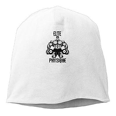 Bodybuilding Acrylic Watch Hat White