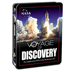 (NASA) Voyage of Discovery Tin Can Collection)
