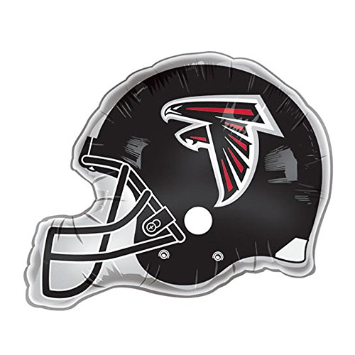 Metallic Atlanta Falcons Helmet Jumbo Mylar Balloon - 1