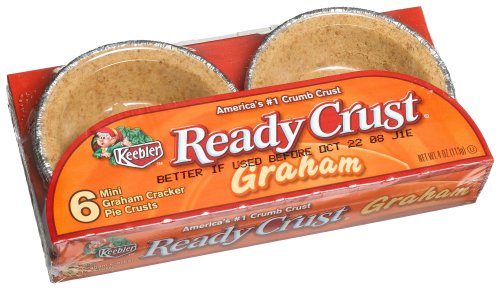 Ready Crust Grahm Mini (3-Inch) Tarts, 4-Ounce Packages (Pack of 12) (Ready Mini Pie Shells compare prices)