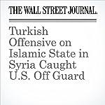 Turkish Offensive on Islamic State in Syria Caught U.S. Off Guard | Adam Entous,Gordon Lubold,Dion Nissenbaum