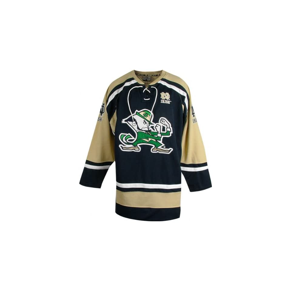 Notre Dame Fighting Irish Hat Trick Hockey Jersey