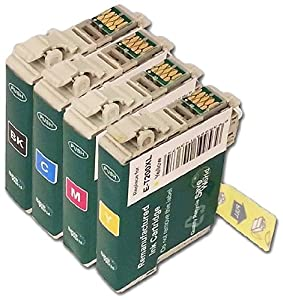 YoYoInk Remanufactured Ink Cartridge Replacement for Epson 200 T200XL ( Black, Cyan , Magenta , Yellow , 4-Pack)