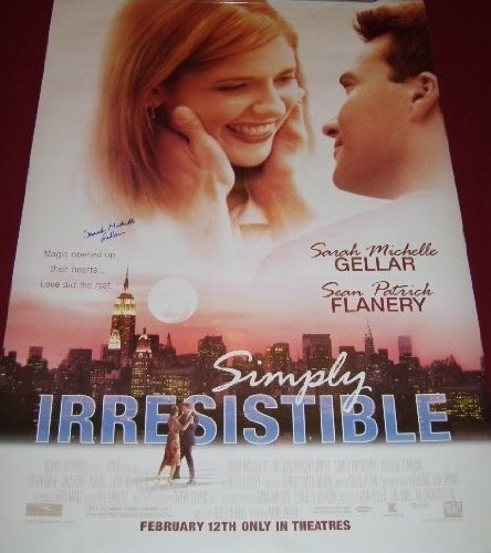 Simply Irresistible Sarah Michelle Gellar Authentic Hand Signed Autographed Full Size 27x40 Movie Theatre Poster Loa