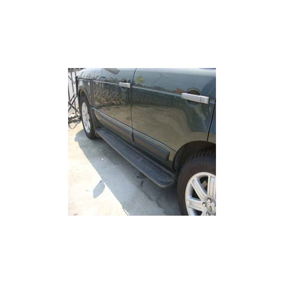 Black Steps Running Boards Side Compatible to Land Rover Range HSE 2010 2011