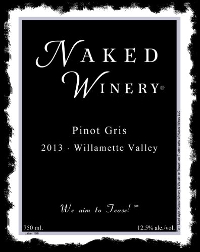 2013 Naked Winery Pinot Gris 750 Ml