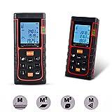 ieGeek® Profi Laser Entfernungsmesser 60M Distanzmessgerät Range Finder Entfernung messen