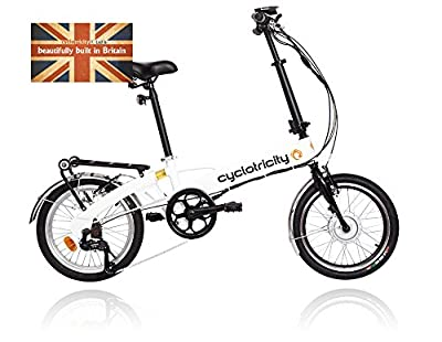 Cyclotricity Wallet Folding Electric Bike 12in