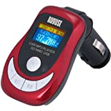 August CR150R - FM Transmitter - Wireless MP3 Player for In-Car use with SD/MMC Card Reader / USB Port / Remote Control