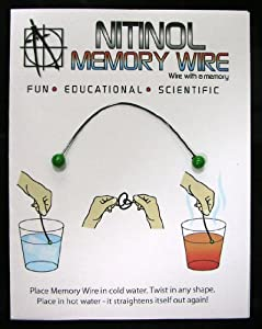 Nitinol Memory Wire by Images SI