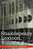 img - for Shakespeare Lexicon, Vol. 1 book / textbook / text book