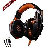 ETopxizu EACH G2000 Comfortable LED 3.5mm Stereo Gaming LED Lighting Over-Ear Noise Cancelling Headphone Headset...