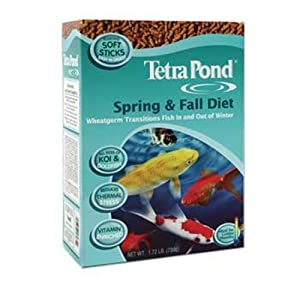 TetraPond Spring & Fall Diet Floating Pond Sticks, 3 Pounds