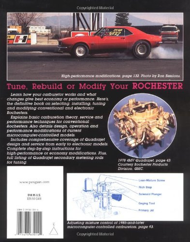 Rochester carburetors revised edition vehicles parts for Rochester department of motor vehicles