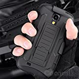Galaxy S4 Case, Cocomii® [HEAVY DUTY] Galaxy S4 Robot Case **NEW** [ULTRA FUTURE ARMOR] Premium Belt Clip Holster Kickstand Bumper Case - Full-body Rugged Protective Cover for Samsung Galaxy S4 (Black/Black) ★★★★★ - Best Reviews Guide