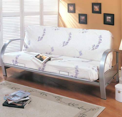 Vintage You will observe more info pare charge and in addition read examine customer opinions right before buy Silver Metal Futon Daybed Sofa Bed Frame Day Bed