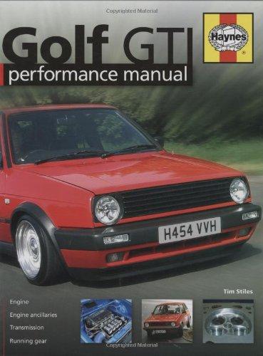 Golf GTi Performance Manual (Haynes Performance Manual)