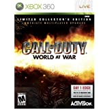 Call Of Duty World At War Collectors Edition - Xbox 360