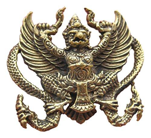 Garuda in metallo a forma di uccello di abboccata, formato A3