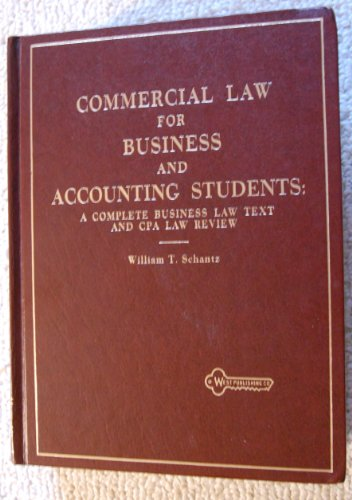 Commer Law for Business and  Accounting Students