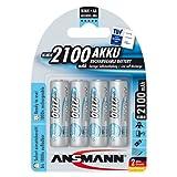 Ansmann ANSAA2100MaxE AA 2100mAh Rechargeable Batteries Carded 4