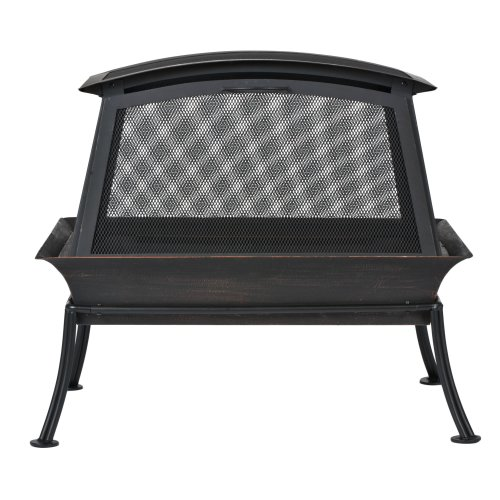 CobraCo-FB6200S-Steel-Fireplace-Fire-Pit