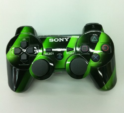 Playstation 3 Ps3 Dualshock 3 Wireless Controller- Interval GreenPlaystation 3 Controller Green