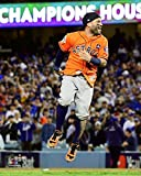 The Houston Astros Jose Altuve Celebrates 2017 World Series Victory. 8x10 Photo Picture.(jose)