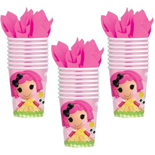 Lalaloopsy Party 9oz. Cups - 24 Guests