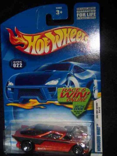 2002 First Editions -#10 Nomadder What 5-Spoke #2002-22 Collectible Collector Car Mattel Hot Wheels