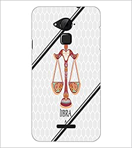 PrintDhaba Zodiac Libra D-3349 Back Case Cover for COOLPAD NOTE 3 LITE (Multi-Coloured)