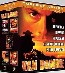 Coffret van damme : the order ; le grand tournoi ; point d'impact ; inferno ; replicant